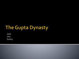 The Gupta Dynasty