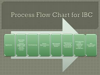 Process Flow Chart for IBC