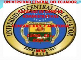 DEAR TEACHER: ALFREDO CALDERÓN DEAR CLASSMATES: CLASS CA2-4