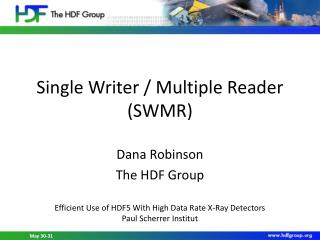 Single Writer / Multiple Reader (SWMR)