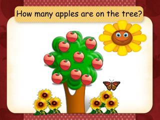How many apples are on the tree?