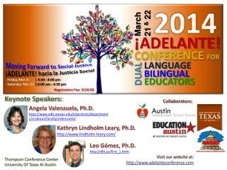 Keynote Speakers: