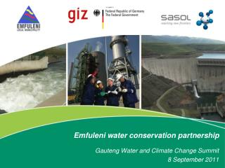 Emfuleni water conservation partnership