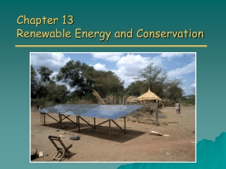Conversion of Biomass Energy into useful energy.