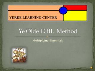 Ye  Olde  FOIL  Method