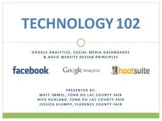 TECHNOLOGY 102