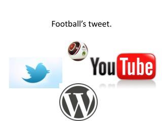 Football's tweet.