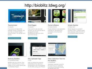 bioblitz.tdwg /