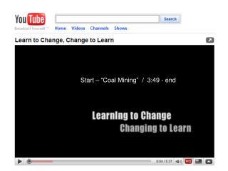 "Start – ""Coal Mining""  /  3:49 - end"