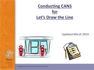 Conducting CANS for Let's Draw the Line