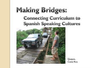 Making Bridges:
