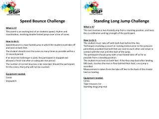 Speed Bounce Challenge