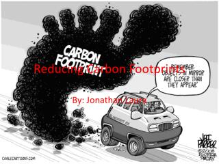 R educing Carbon Footprints