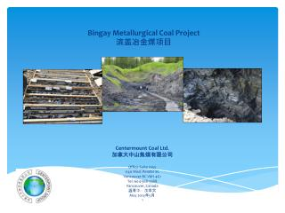 Bingay  Metallurgical Coal Project 滨盖冶金煤项目