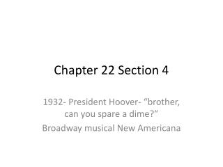 Chapter 22 Section 4