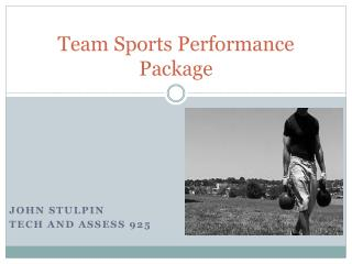 Team Sports Performance Package