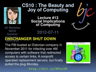 Dnschanger  shut down