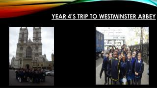 Year 4's trip to Westminster Abbey