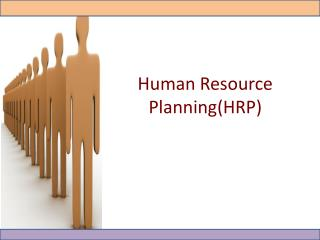 Human Resource  P lanning(HRP)