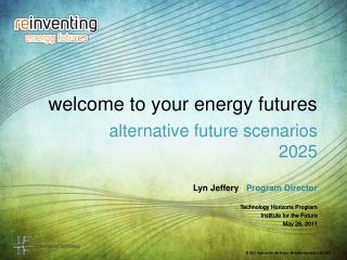 welcome to your energy futures