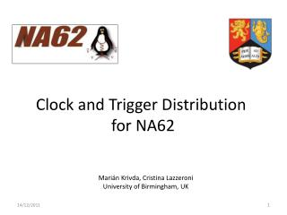 Clock and Trigger Distribution for NA62