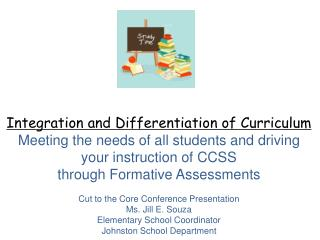 Integration and Differentiation of Curriculum