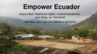 Empower Ecuador