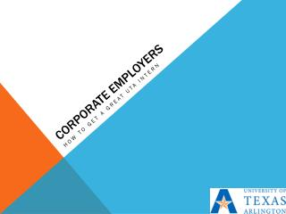 Corporate Employers