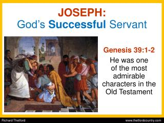JOSEPH: God's  Successful  Servant