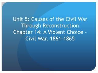 The Union & Confederacy, 1861