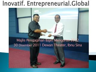 lnovatif .  Entrepreneurial.Global