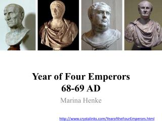 Year of Four Emperors  68-69 AD