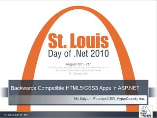Backwards Compatible HTML5/CSS3 Apps in ASP.NET