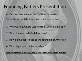Founding Fathers Presentation