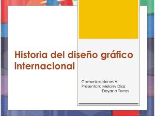 Historia del diseño gráfico internacional