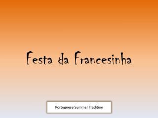 Festa da Francesinha