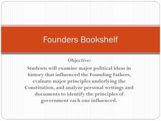Founders Bookshelf