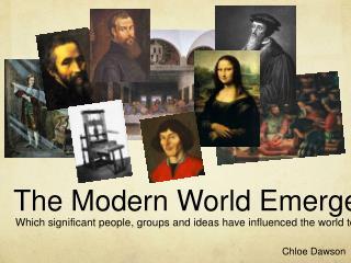 The Modern World Emerges