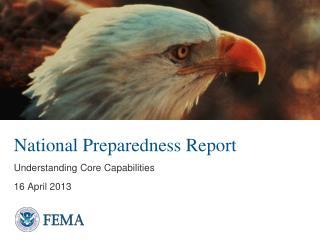 National Preparedness Report