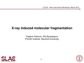 X-ray induced molecular fragmentation
