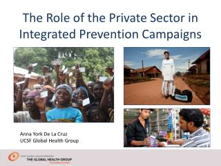 The Role of the Private Sector in Integrated Prevention Campaigns