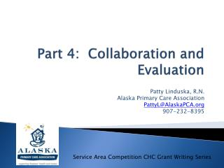 Part 4:  Collaboration and Evaluation