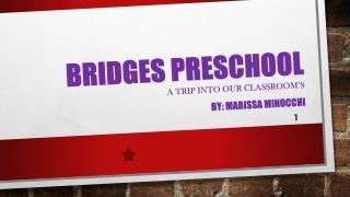 BRiDGES  Preschool A trip into our classroom's
