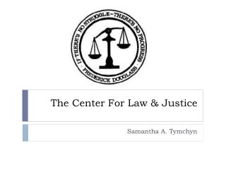 The Center For Law & Justice