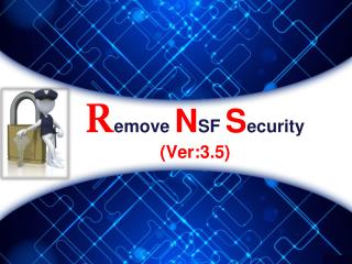 Remove NSF Security