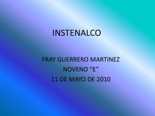 INSTENALCO