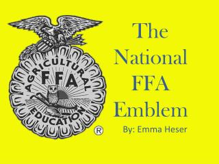The National FFA Emblem