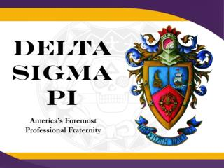 Who we  a re as a Fraternity