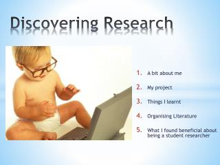Discovering Research