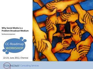 Why Social Media is a Problem Broadcast Medium